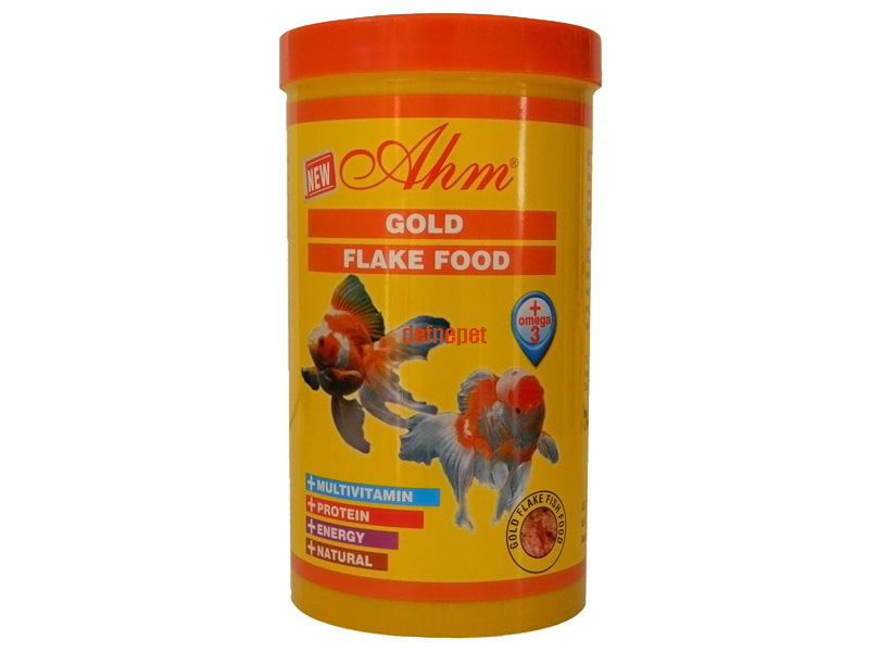 GOLD FİSH FLAKE FOOD 1000 ML KUTU fotograf