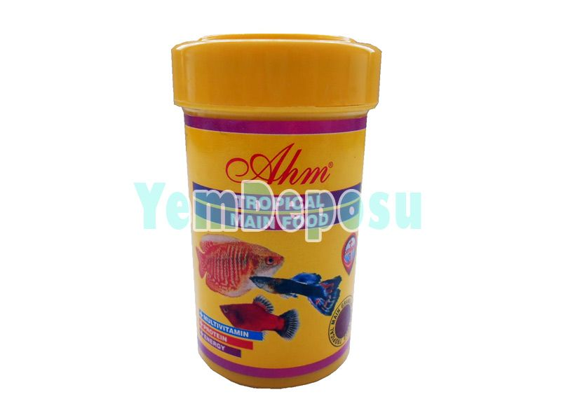 AHM TROPİCAL MAIN FOOD 3 X 100 ML KUTU fotograf