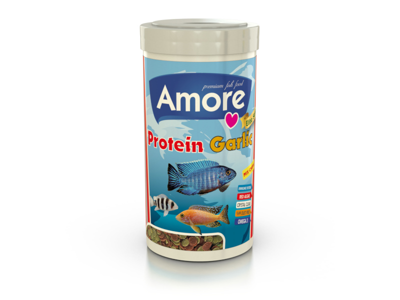 PROTEIN GARLIC MIX CHIPS 1000ML ALGAE CLEAR IMMUNE PROTECT OMEGA-3 PRO CRİSPS BALIK YEMİ fotograf