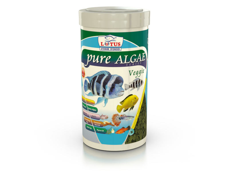 PURE ALGAE VEGGİE 100ML PRO CHİPS GARLİC fotograf