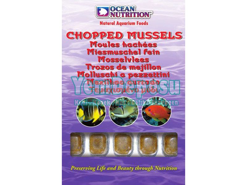 CHOPPED MUSSEL 2 X 100 GR