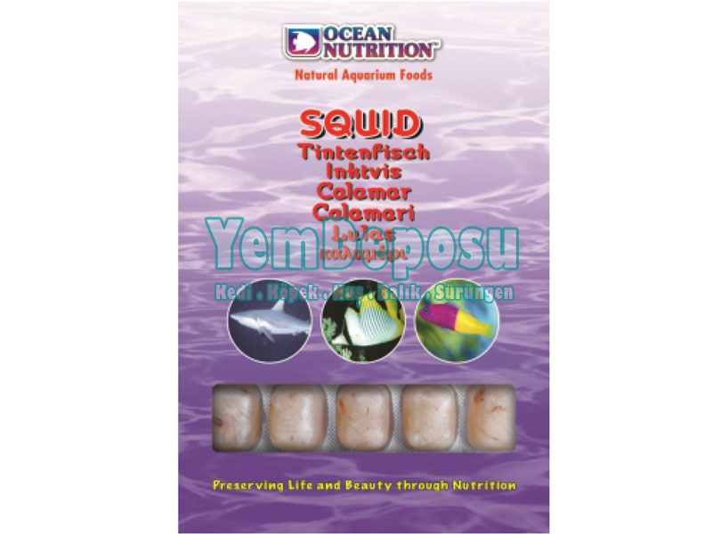 OCEAN NUTRITION SQUID 100 GR